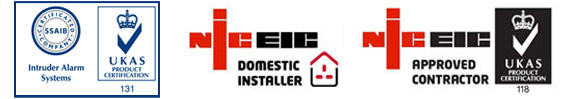 UKAS NICEIC registered approved